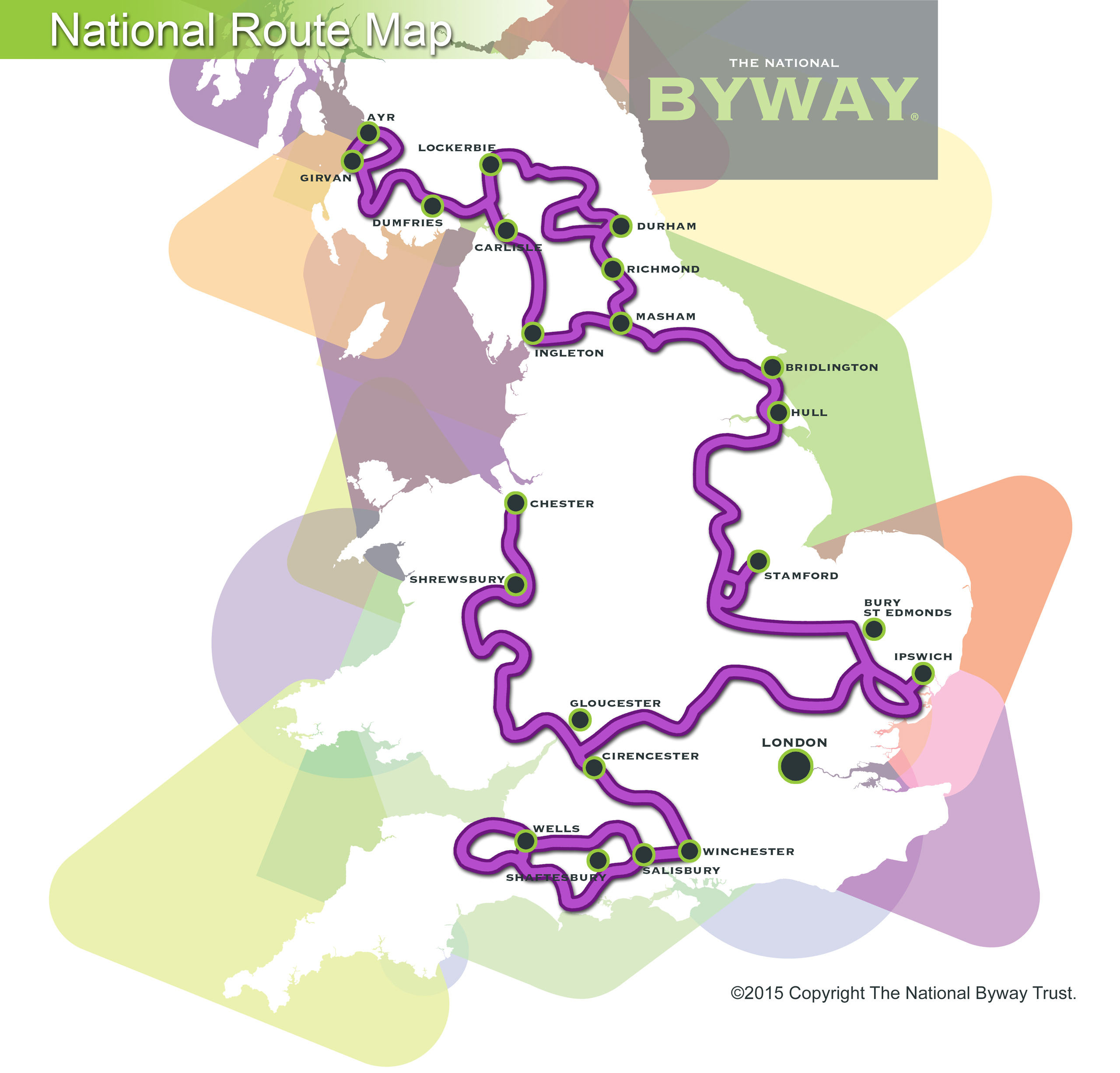 The National Byway® National Route Map