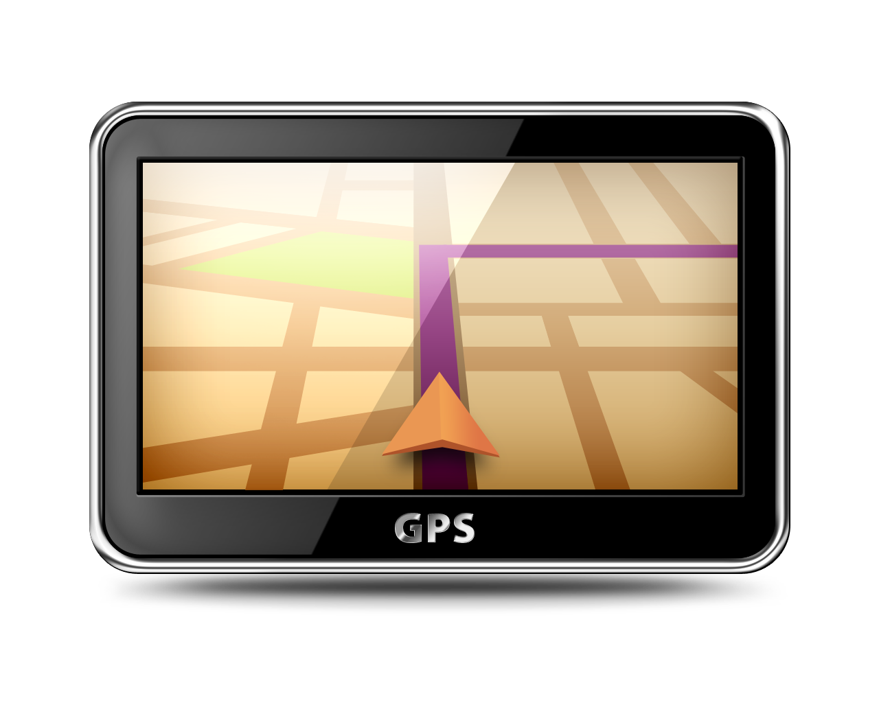 GPS device graphic image