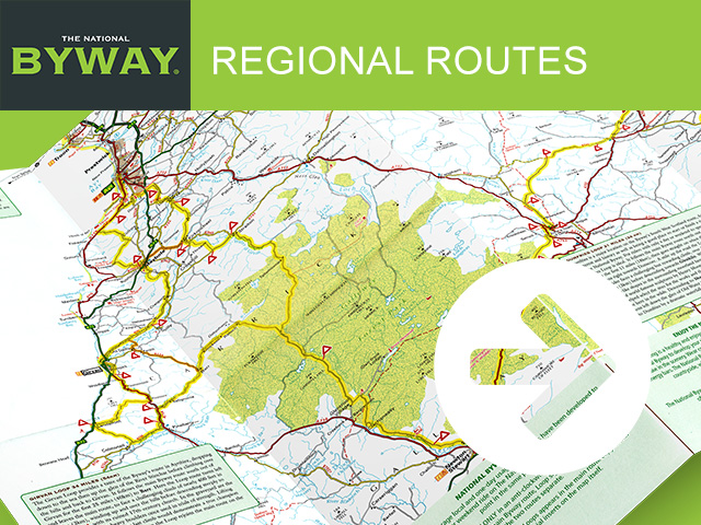 The National Byway® - Regional Routes block image