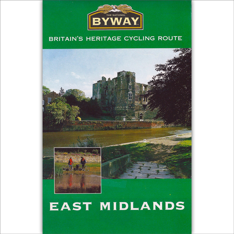 The National Byway® East Midlands map cover image