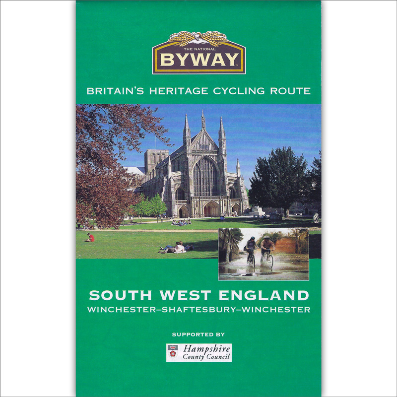 The National Byway® South West England map cover image