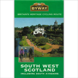 The National Byway® South West Scotland map cover image
